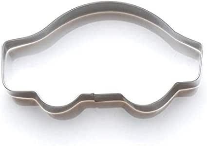 Small Car Cookie Cutter - 2.9 Inches - Tin Plated Steel