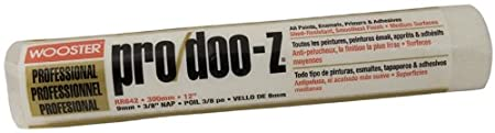 Wooster Brush RR642-12 Pro/Doo-Z Roller Cover 3/8-Inch Nap, 12-Inch