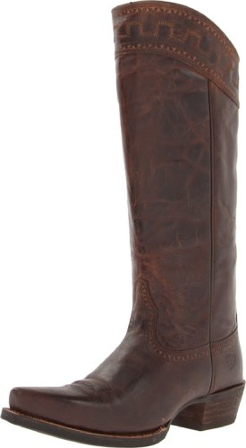 Ariat Kvinna Sahara Western Cowboy Boot Sassy Brun