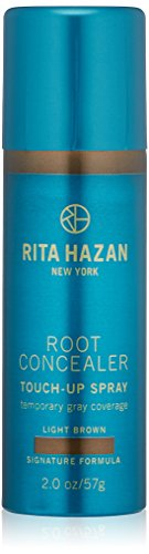 - Root Concealer-Rita Hazan- Touch Up Spray-Light Brown Cover Up Gray 2oz
