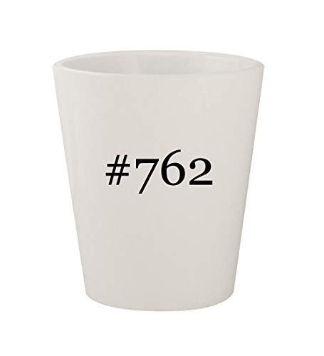 #762 - Ceramic White Hashtag 1.5oz Shot Glass