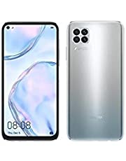"Huawei HW-JNY-LX2 Nova 7I Dual Sim Smartphone, 6.4"" LCD Display, 8GB RAM, 128GB ROM, Grey"