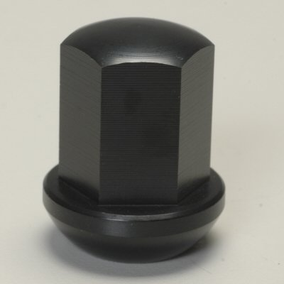 Pacific Customs Aluminum Black Anodized Lug Nuts for Porsche 911 Alloy Wheels - Pack of 5 (Porsche Alloy Wheels)