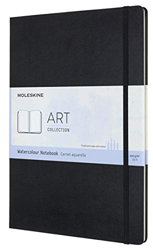 Moleskine Art Watercolor Notebook, Hard Cover, A4 (8.25