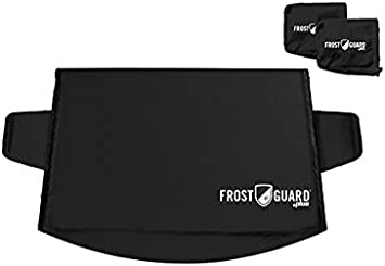Mirror Covers Security Panels and Wiper Blade Cover FrostGuard Plus Winter Windshield Standard, Black Ice and Frost Protects from Snow Weather Resistant