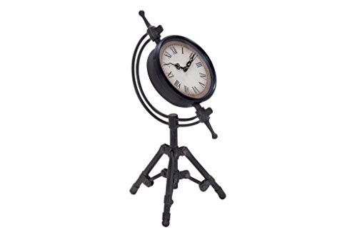 Deco 79 Metal Clock, 14 by 7-Inch