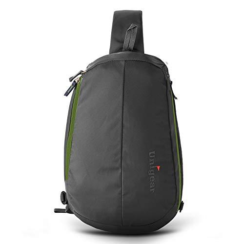 (Unigear Sling Backpack Crossbody Shoulder Chest Bag for Women & Men, Multipurpose Anti -Theft Design for Travel, Commuting and Hiking (Gray))