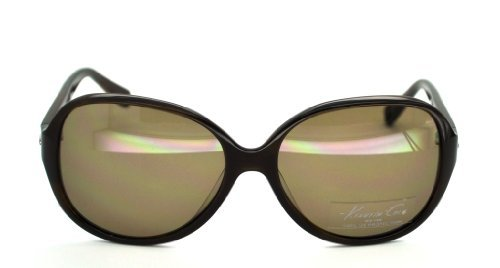 Kenneth Cole KC7016 Sunglasses-50E Brown (Brown Lens)-58mm