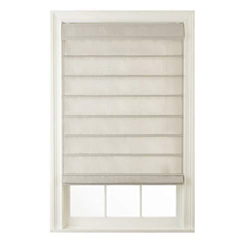 Window Blind Store Cordless Hanna Roman Shade Pebble Beach 35x64 - Treatments Roman Window