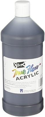 Sax True Flow Heavy Bodied Acrylic Paint - Quart - Mars Black