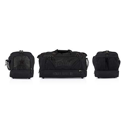 Fairtex Bag Heavy Duty Gym Bag Black