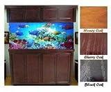 R&J Enterprises ARJ40265 Xtreme Series Oak Wood Aquarium Canopy, 72 by 18-Inch, Honey
