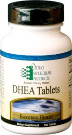 Ortho Molecular Products - DHEA 25 mg - 90 Capsules
