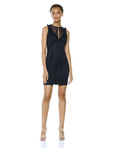 Wild Meadow Women's Lace Yoke Sleeveless Dress