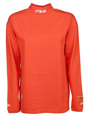 T Hwab006r19600022101 shirt Algodon Naranja Mujer Heron Preston XCvqSS
