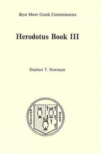 Book 3  Bryn Mawr Commentaries  Greek   Bk  3