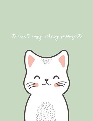 cute cat notebook