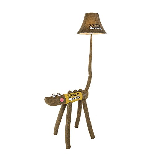 Kids Desk Lamp LED Cute Crocodile LED Floor Lamp Funny Animal children bedroom Table lamp Two Sizes Option (125cm) by Balie Space