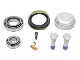 for Mercedes w201 Wheel Bearing KIT Front L=R w//bearings seal cap bolts w201