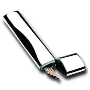 Plated Toothpick - Toothpick Holder silver plated TPK01