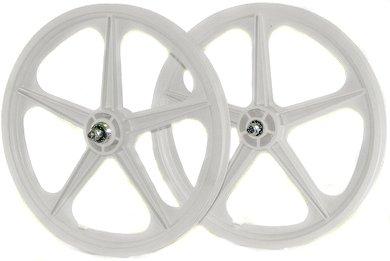 "Skyway BMX Front Wheel Tuff UT 3//8-5 Spoke Black 20/"""