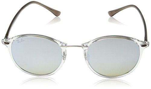 Silver RB Ii Transparent Round Ray Sonnenbrille 4242 Ray Ban Brown Light Transparent qfgq6P