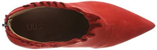 Bottines Rot red Liu Jo 19165 Fille Lola qwxgEv