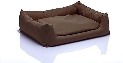 Pola perro cama, tamaño S (50 x 60 cm), diseño de taza de café luz ...