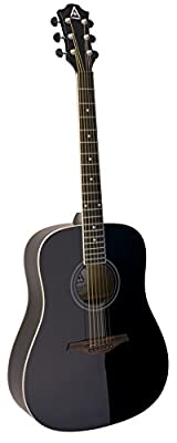 Hohner Guitars A+ by Hohner AS305-BK Acoustic Guitar, ,