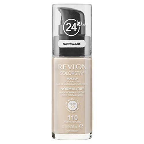 Revlon Colorstay Pump 24HR Make Up SPF20 Norm/Dry Skin 30ml - 110 Ivory