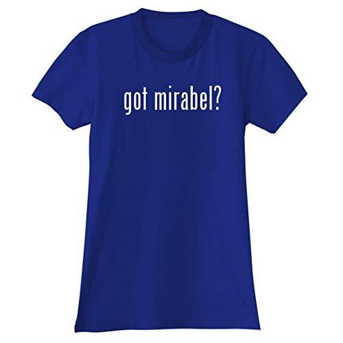 The Town Butler got Mirabel? - A Soft & Comfortable Women's Junior Cut T-Shirt, Blue, Medium