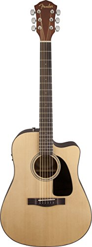 - Fender Acoustic Guitars Folk Music Instruments 968686021 FA-300CE Acoustic Electric Dreadnaught Guitar with Slide Interface, Natural