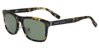 Boss Hugo Boss 0466/S Sunglasses Havana Brown / Green by Hugo Boss