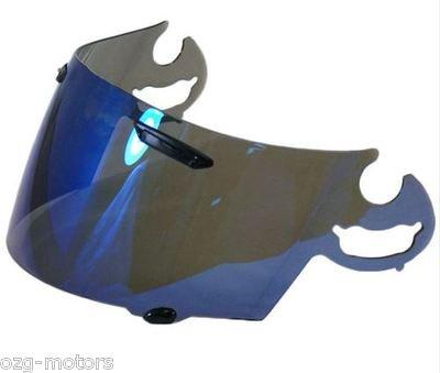 61f3ff81 Image Unavailable. Image not available for. Color: Blue RR5 aftermarket  visor to fit Arai helmet tint Shield visor RX7 Corsair GP V RX
