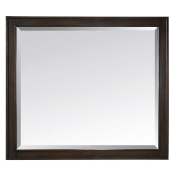 Avanity Madison 36 in. Mirror in Light Espresso finish by Avanity