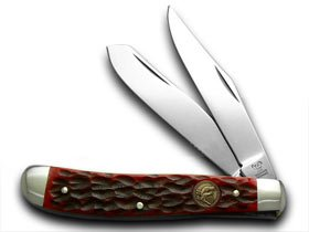 Hen and Rooster rot Pick Bone Trapper Pocket Knife Knives B00MTXII7S     | Abgabepreis