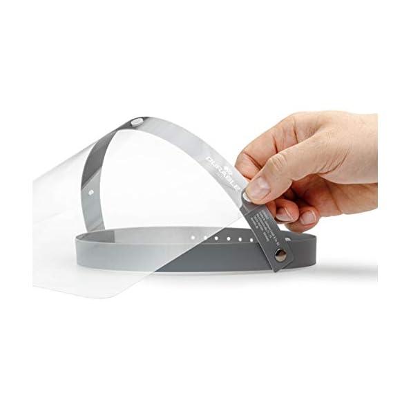Durable-Visier-fr-Gesichtsschutz-vor-Spritzern-und-Trpfchen-CE-konform-mit-anpassbarem-Stirnband-hochklappbar-desinfizierbar-Made-in-EU-1-Stck