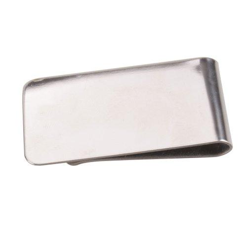 Toogoo Soldi r Clip Acciaio In Inossidabile D'argento f1zqwx7f