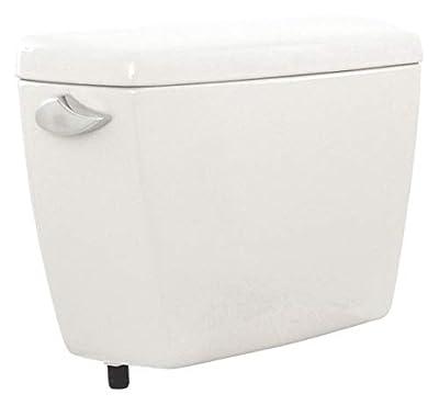 TOTO Drake 1.6 gpf Toilet Tank, Left Hand Trip Lever, Cotton