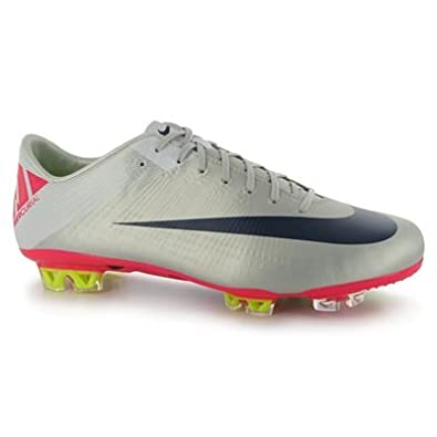 95e56fe01f4a Nike Mercurial Vapor Superfly III FG - Chaussures de Foot  Granite/Rose/Blanc -