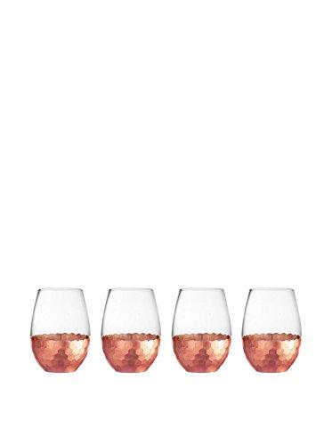 fitz-and-floyd-229532-st-daphne-stem-less-glasses-set-of-4-copper
