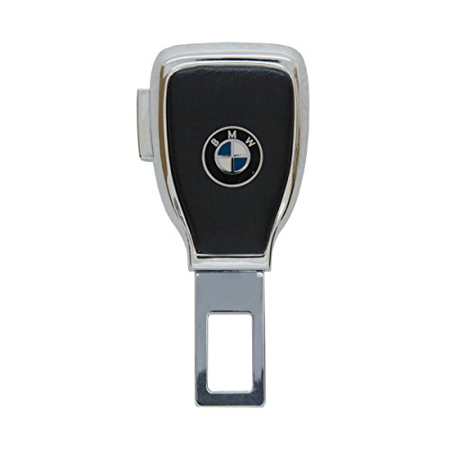Logo Belt Buckle Buckles (Bearfire car Logo Safety Buckle Extension Extender Clasp Insert Plug Clip Car Seat Belt Card Personality Buckle (BMW))