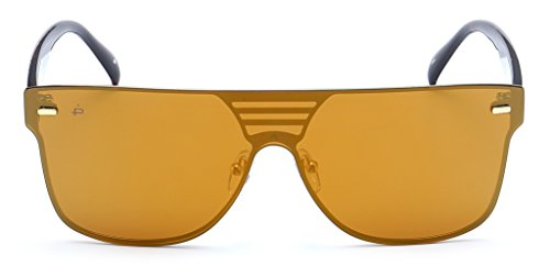 "(PRIVÉ REVAUX ""The Rockstar"" Handcrafted Designer Futuristic Sunglasses For Men & Women)"
