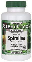 Spirulina 500 mg 180 Tabs