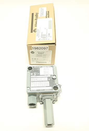 ALLEN BRADLEY 836T-T256J Pressure Control Switch 60-650PSI 120-600V-AC