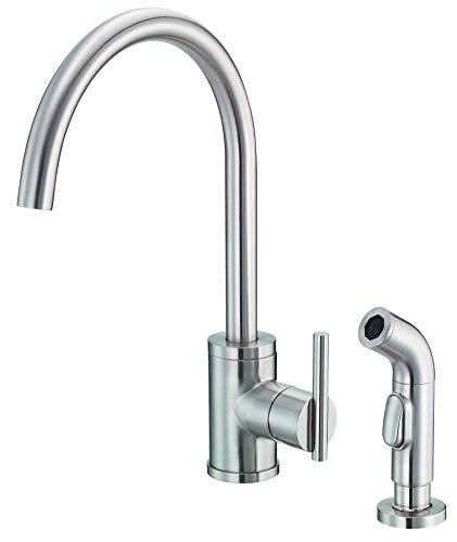 Danze D401058SS Kitchen Faucet, Stainless Steel