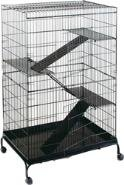 DPD Steel Ferret CAGE with CASTERS - Jumbo