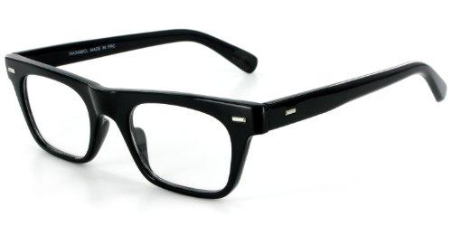 Wayfarer Clear Fashion Glasses for Youthful, Trendy Men and Women - Wayfarer Cover