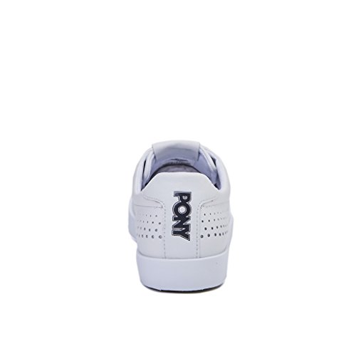 sneakers unisex pony TOP STAR PERFORATED colore bianco Bianco