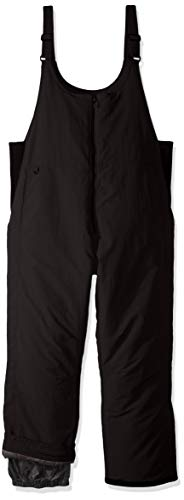 White Sierra Men's Big Toboggan Insulated Bib, Black, 2X